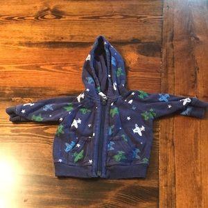 Adorable zip up hoodie